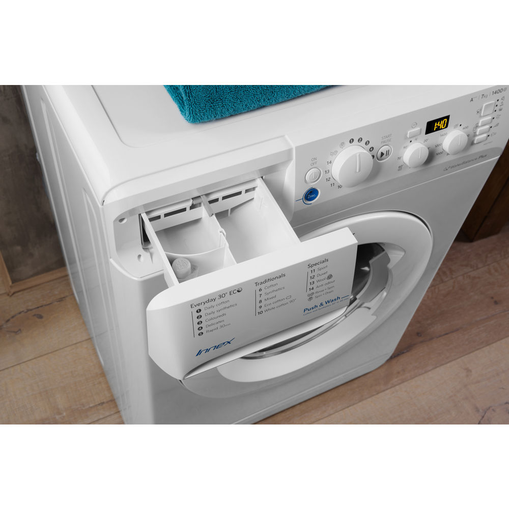 Indesit BWD71453W 7kg 1400rpm Washing Machine White
